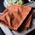 mind the MAKER - Dry Waxed Organic Cotton rost