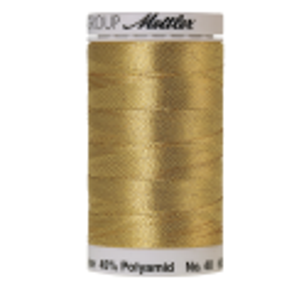 Amann Mettler Metallic 40, 600m - Inka Gold