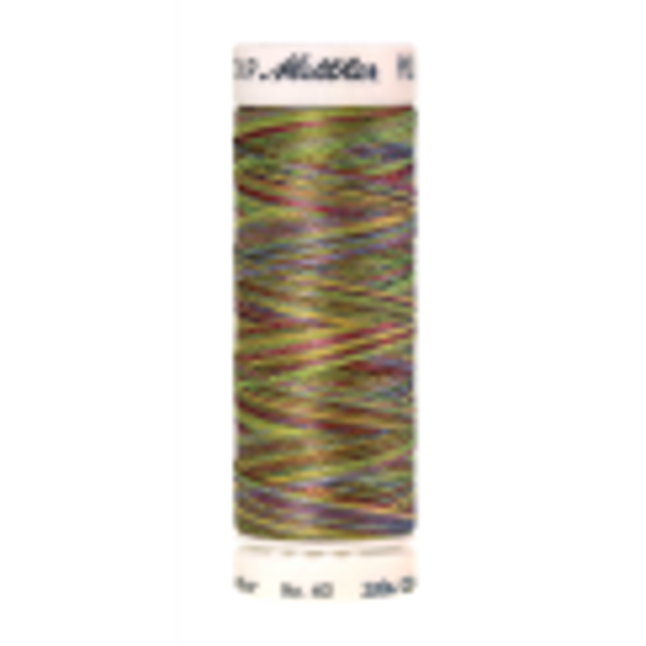 Amann Mettler Poly Sheen Multi, 200m Spule in Spring Fling  Die Multifarben harmonieren perfekt mit dem unifarbenen Poly Sheen