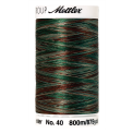 Amann Mettler Poly Sheen Multi, 800m Spule in Forest Woods  Die Multifarben harmonieren perfekt mit dem unifarbenen Poly Sheen