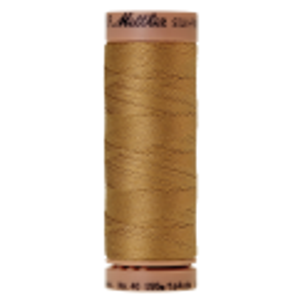 Silk-Finish Cotton 40, 150m - Sisal: Reines Baumwollgarn aus 100% langstapliger, ägyptischer Baumwollte von Amann Mettler