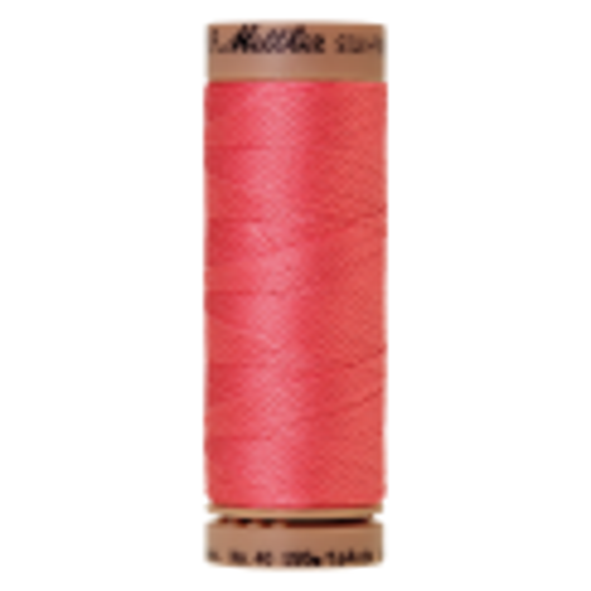Silk-Finish Cotton 40, 150m - Persimmon: Reines Baumwollgarn aus 100% langstapliger, ägyptischer Baumwollte von Amann Mettler