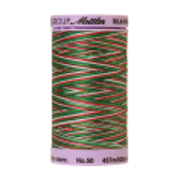 Silk-Finish Multi 50, 457m - Seasons Greetings : Reines Baumwollgarn aus 100% langstapliger, ägyptischer Baumwollte von Amann Mettler