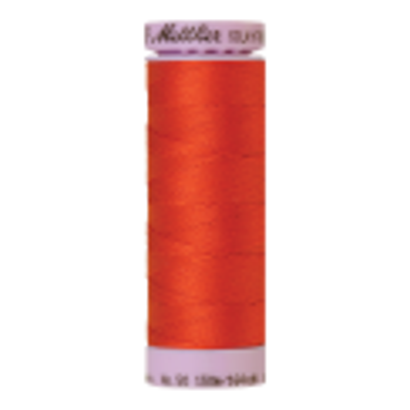Silk-Finish Cotton 50, 150m - Paprika: Reines Baumwollgarn aus 100% langstapliger, ägyptischer Baumwollte von Amann Mettler