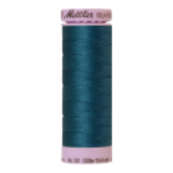 Silk-Finish Cotton 50, 150m - Mallard: Reines Baumwollgarn aus 100% langstapliger, ägyptischer Baumwollte von Amann Mettler