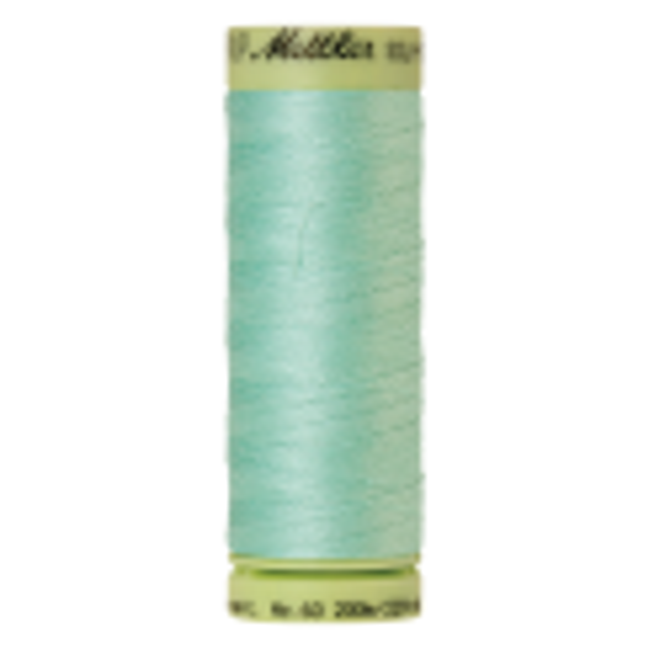 Silk-Finish Cotton 60, 200m - Silver Sage: Reines Baumwollgarn aus 100% langstapliger, ägyptischer Baumwollte von Amann Mettler