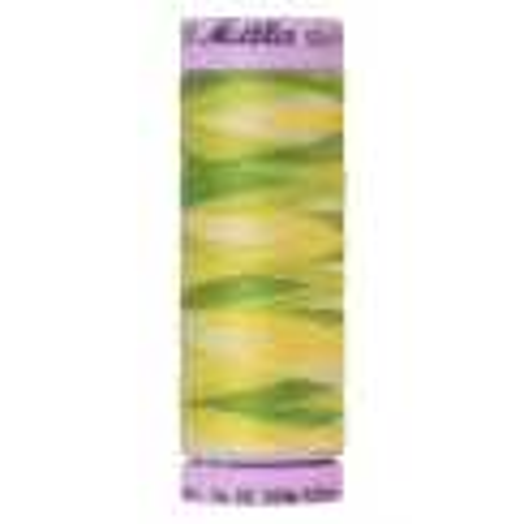 Silk-Finish Multi 50, 100m - Citrus Twist : Reines Baumwollgarn aus 100% langstapliger, ägyptischer Baumwollte von Amann Mettler