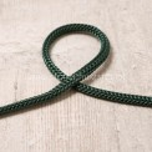 4mm Kordel dunkelgrün
