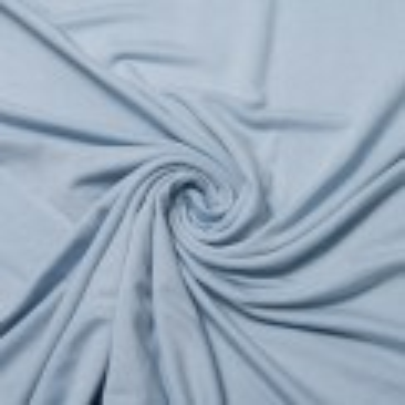 Uni Modal-Jersey hellblau