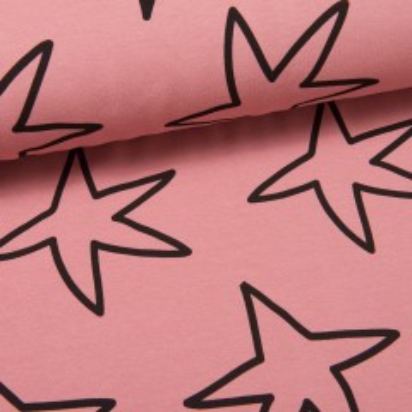 Happy Stars Sweat altrosa