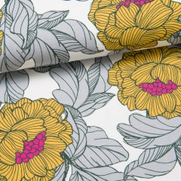 British Flowers Sweat senf