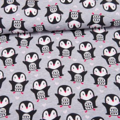 Pinguin Love Jersey grau