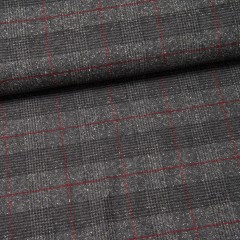 Woll-Tweed (Made in Italy) Antonio dunkelgrau
