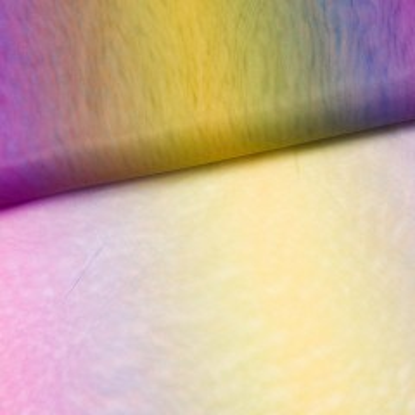 Multi-Colour-Tüll Regenbogen dunkel