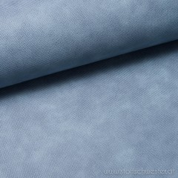 Lederimitat mit Struktur blau