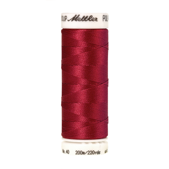 Amann Mettler Poly Sheen Blossom glänzt durch den trilobalen Fadenquerschnitt besonders schön. Zum Sticken, Quilten, Nähen. 200m Spule