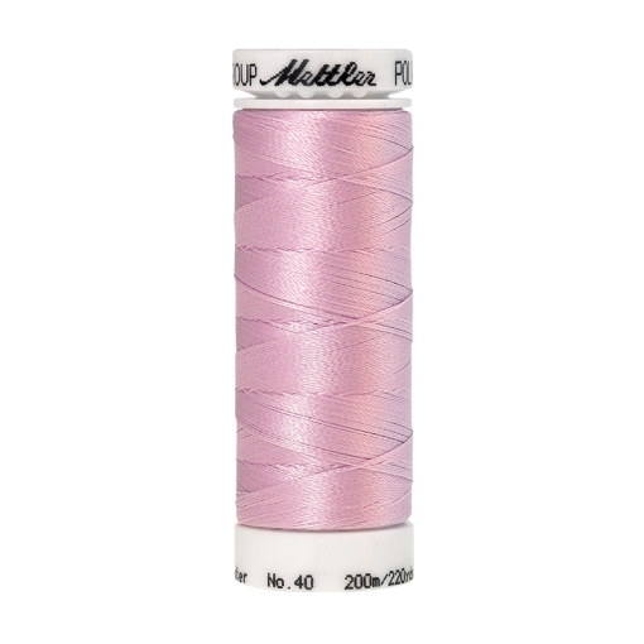 Amann Mettler Poly Sheen Aura glänzt durch den trilobalen Fadenquerschnitt besonders schön. Zum Sticken, Quilten, Nähen. 200m Spule