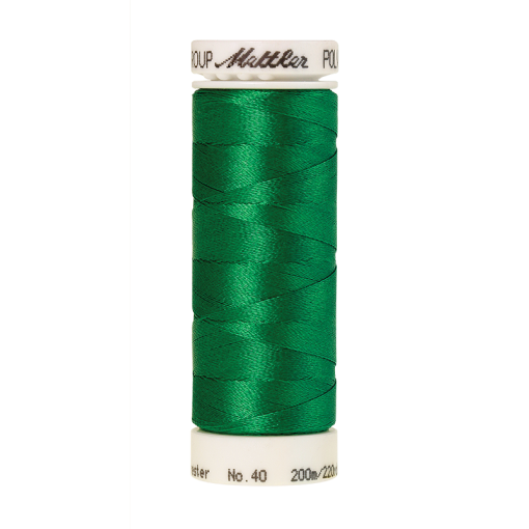 Amann Mettler Poly Sheen Shamrock glänzt durch den trilobalen Fadenquerschnitt besonders schön. Zum Sticken, Quilten, Nähen. 200m Spule