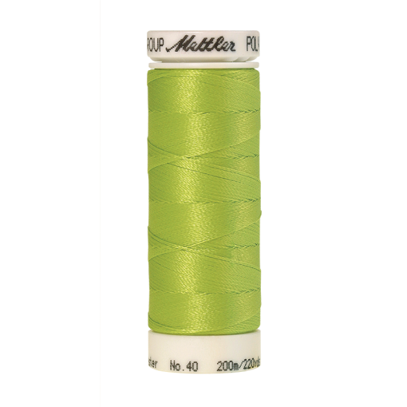 Amann Mettler Poly Sheen Tamarack glänzt durch den trilobalen Fadenquerschnitt besonders schön. Zum Sticken, Quilten, Nähen. 200m Spule