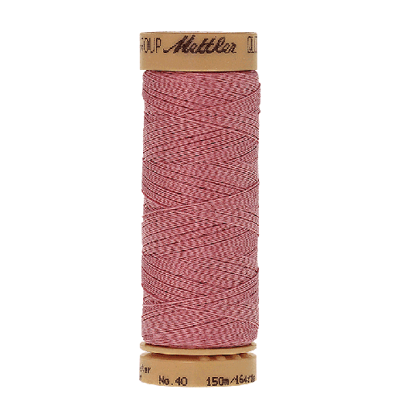 Amann Mettler Quilting waxed, 150m - Petal Pink Handquiltgarn