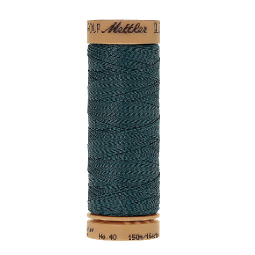 Amann Mettler Quilting waxed, 150m - Truly Teal Handquiltgarn