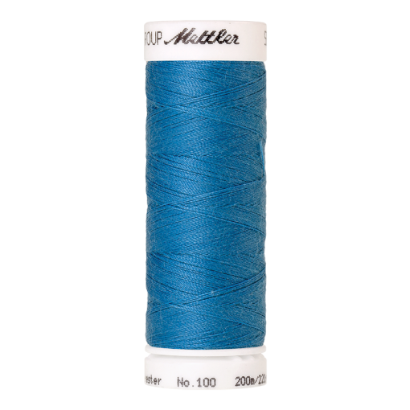 Amann Mettler Seralon 100, 200m - Wave Blue - Allesnäher