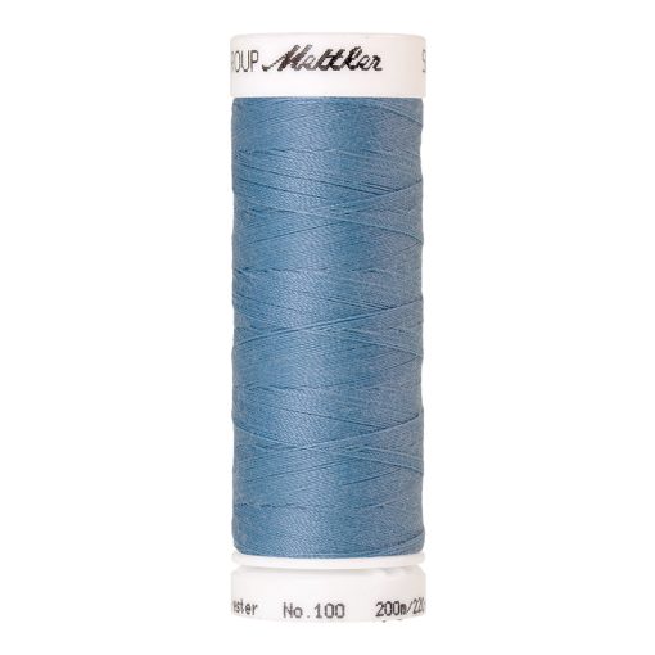 Amann Mettler Seralon 100, 200m - Azure Blue - Allesnäher