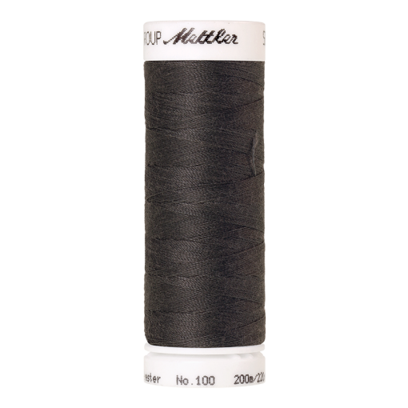 Amann Mettler Seralon 100, 200m - Dark Charcoal - Allesnäher
