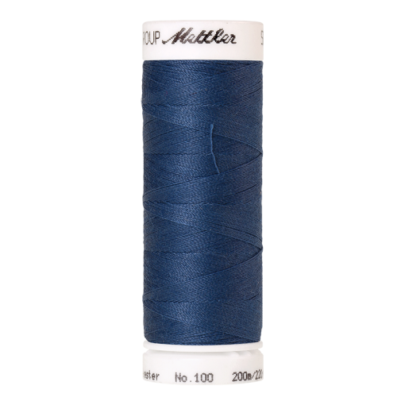 Amann Mettler Seralon 100, 200m - Steel Blue - Allesnäher