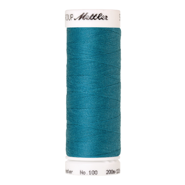 Amann Mettler Seralon 100, 200m - Caribbean Blue - Allesnäher