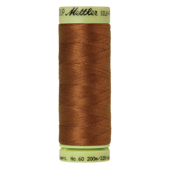Silk-Finish Cotton 60, 200m - Light Cocoa: Reines Baumwollgarn aus 100% langstapliger, ägyptischer Baumwollte von Amann Mettler