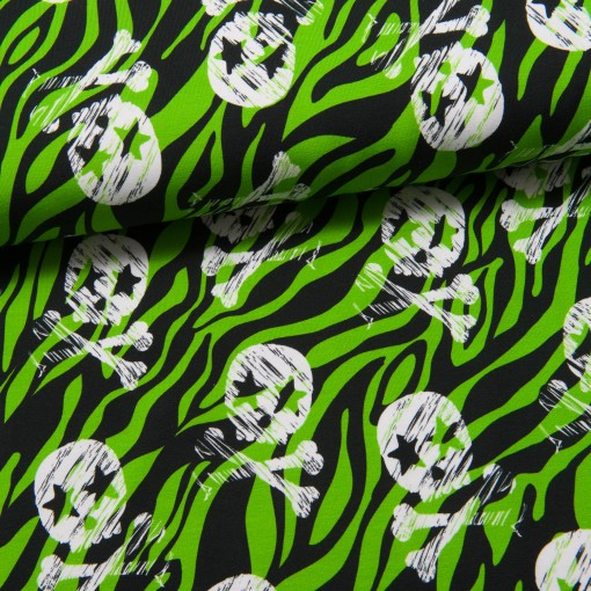 Totenköpfe Theo Jersey grün