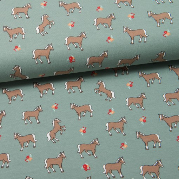 Sweet Horses Jersey mintgrün