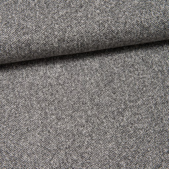 Woll-Tweed (Made in Italy) Camilla grau