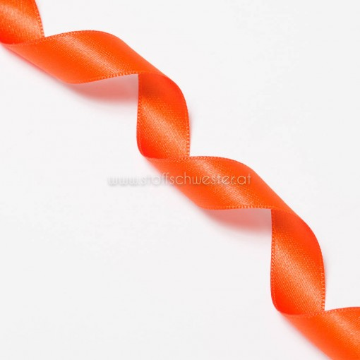 15mm Satinband signalorange