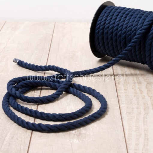 "10mm Kordel ""soft"" navy"