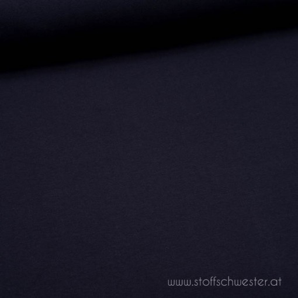 Stoffschwesters Sommersweat marineblau