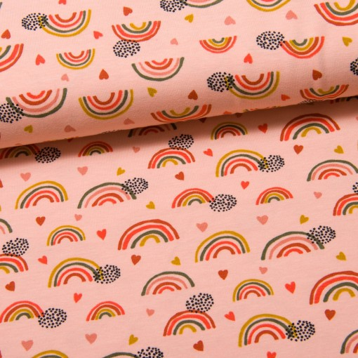 Biojersey Sweet Rainbows rosa