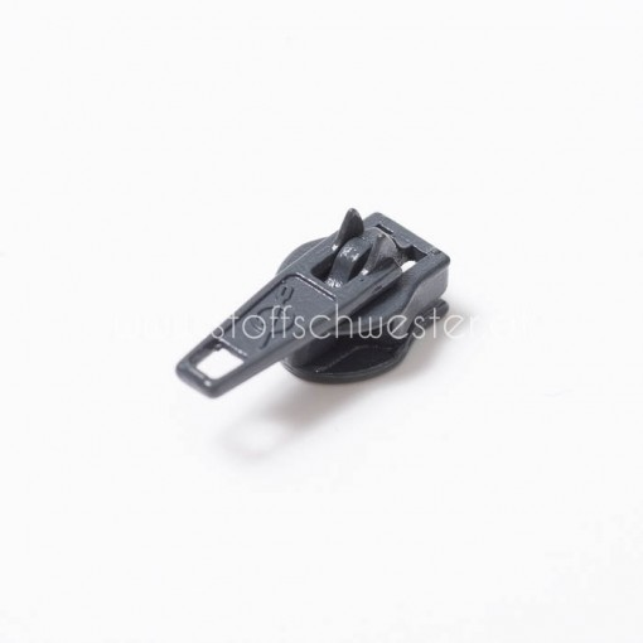 3mm Pin-Lock Schieber dunkelgrau (3 Stück)