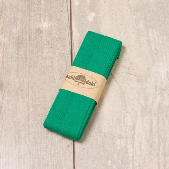 3m Jersey-Schrägband dunkelgrün