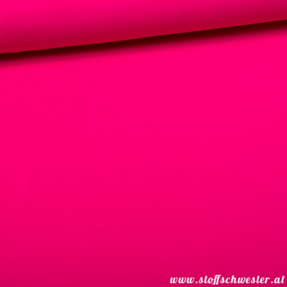 Stoffschwesters Kuscheljersey, ein Jerseysweat pink 1