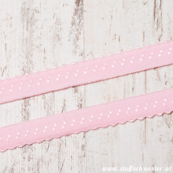 Stoffschwester Wäschegummi rosa