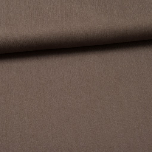 Köper-Jeans gewebt taupe