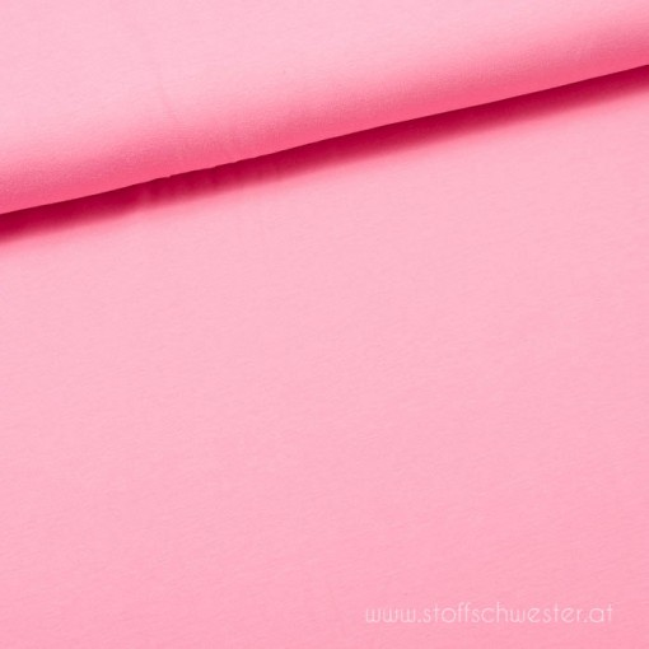 Stoffschwester Biojersey rosa