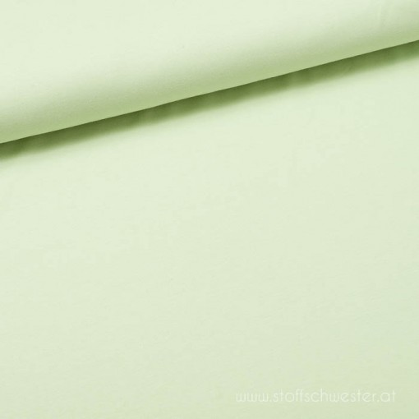 Stoffschwester Biojersey schaumgrün