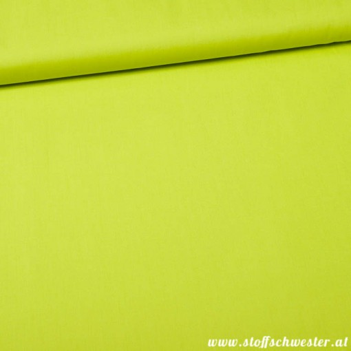 Stoffschwesters Unibaumwolle Soft Touch lime