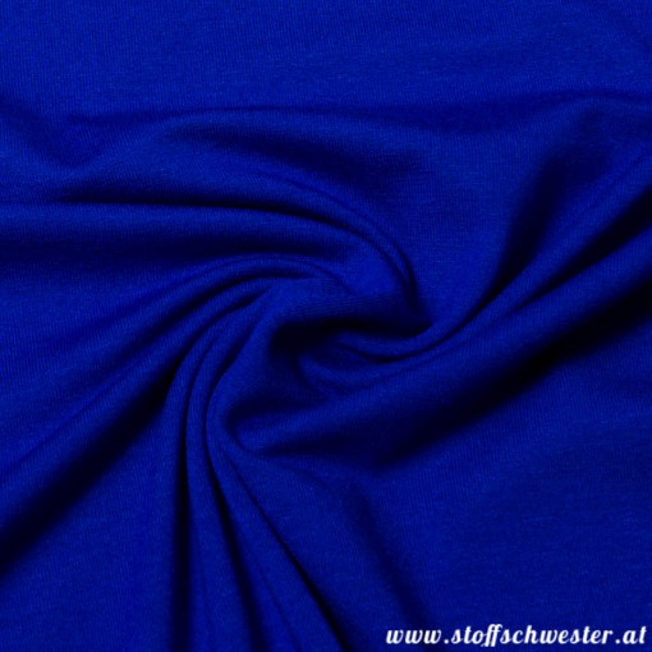 Stoffschwesters Viskosejersey Viskose de Luxe royalblau