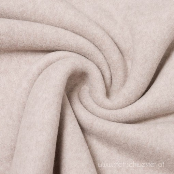Organic Bio Fleece taupe