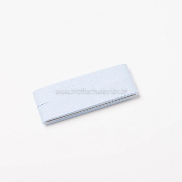 Schrägband babyblau