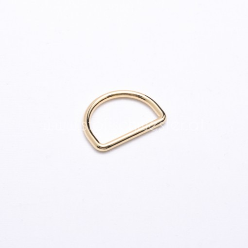 20mm D-Ring gold